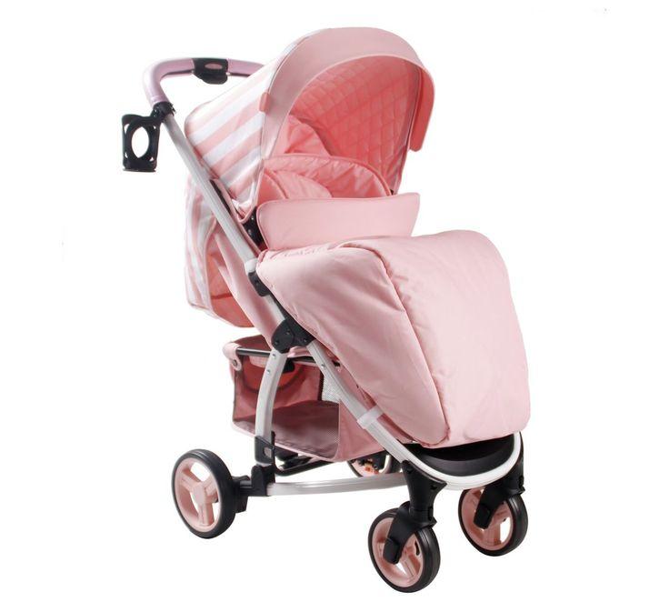 My Babiie Billie Faiers MB100 Pink Stripe Pushchair http://www.parentideal.co.uk/argos---pushchairs-prams.html