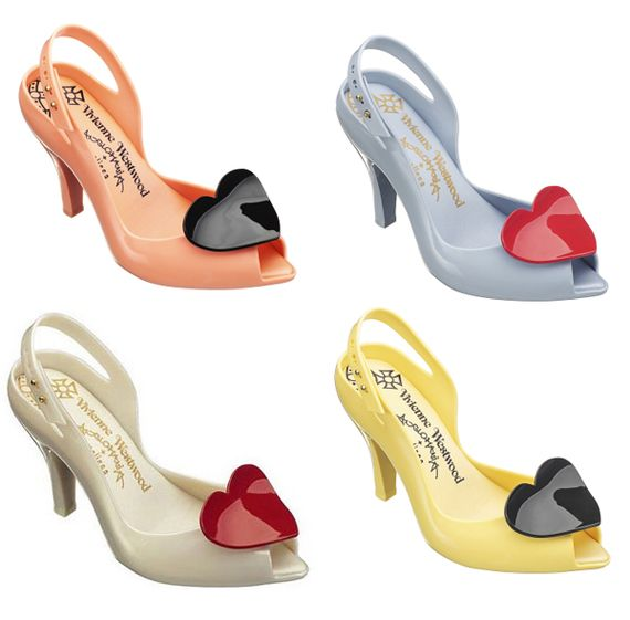 Vivienne Westwood - Melissa Jelly Shoes--I know someone who has a pair of these, and I envy her. ;)