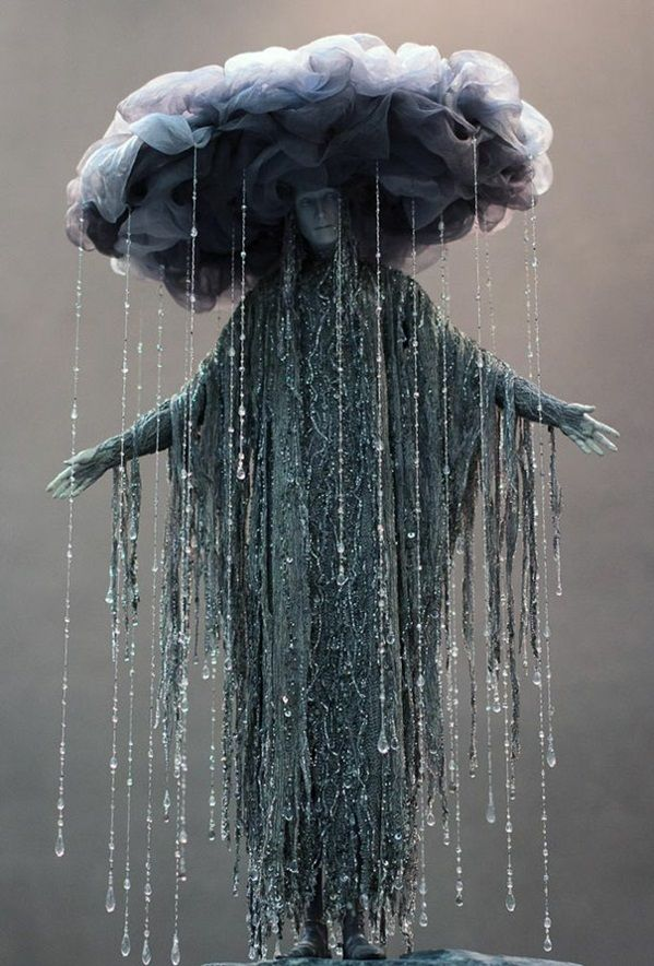 widriges wetter Halloween Kostüm Ideen wolken regen