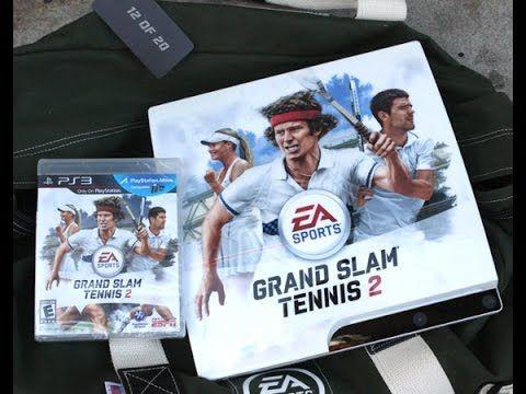 GRAND SLAM TENNIS 2 #GAMINGBACKLOG PLAYSTATION 3 #PS3 REVIEW GAMEPLAY LE...