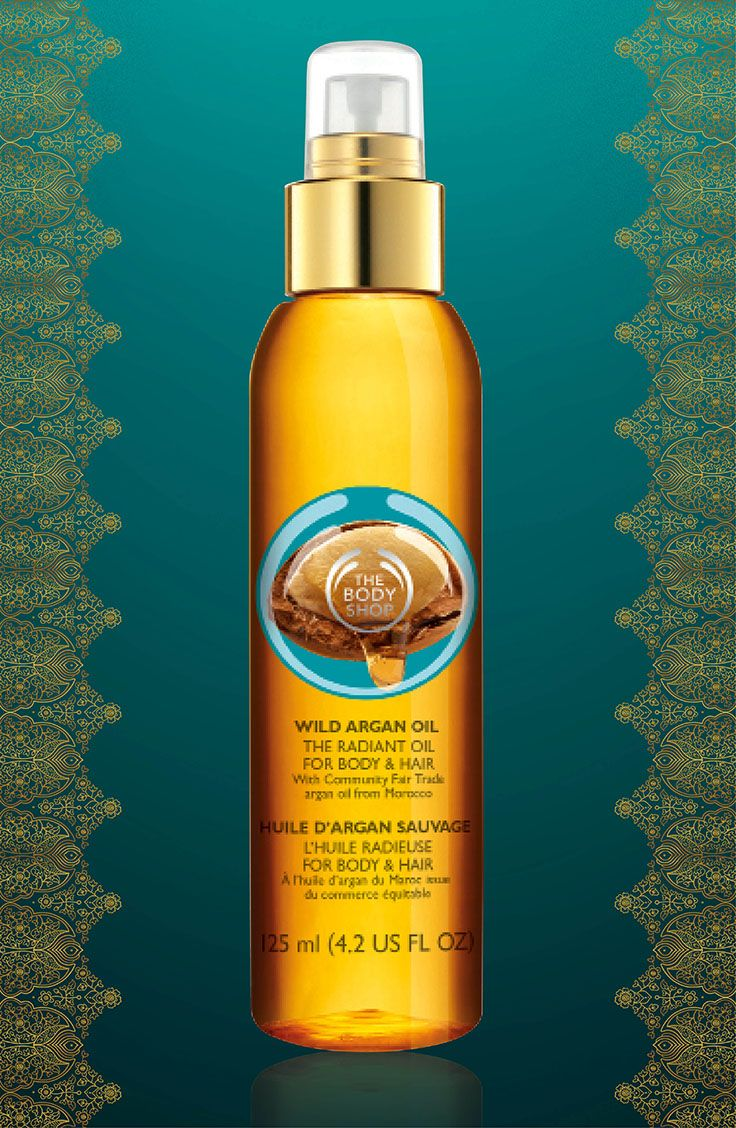 WILD ARGAN OIL THE RADIANT OIL FOR BODY & HAIR Glow with the rich radiance of Community Fair Trade wild argan oil from Morocco for body and hair.  125 ml/R220.00 RRP