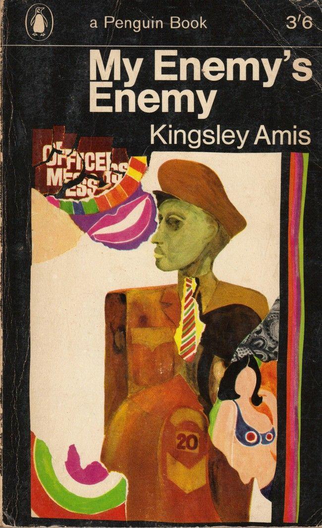 My Enemy's Enemy - original Penguin edition cover by Alan Aldridge