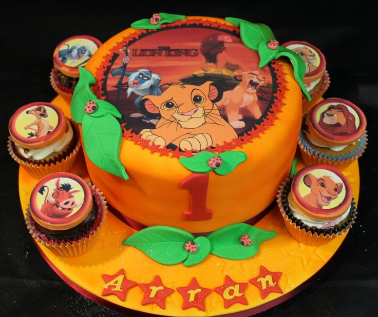 The Lion King Cake By Cakesbylorna cakepins.com