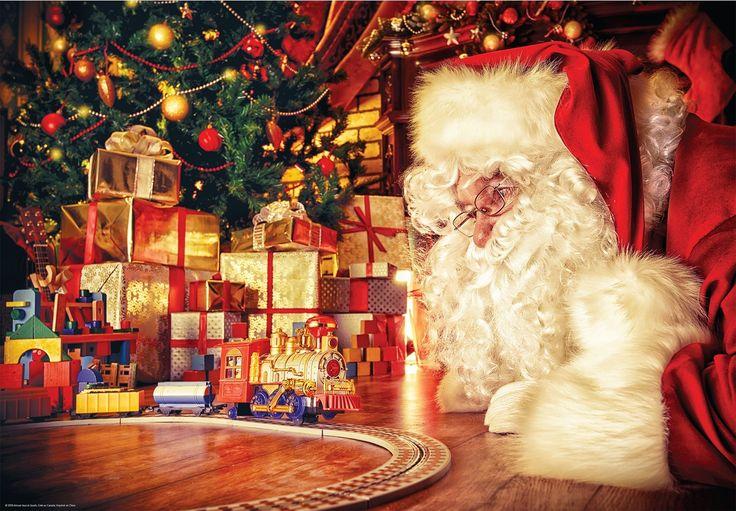 Casse-tête 1000 morceaux – Collection Noël - Collection Noël. 1000 morceaux. -  Age : Toute la famille -  Référence : 035541 #Jeux #jouets #Enfant #Cadeau #Vacances #famille #CasseTete #Puzzle