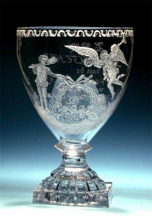 Glas ter gelegenheid van de 58e verjaardag van Christina Gesina van Hoorn - A.Hoevenaar Fecit 1796