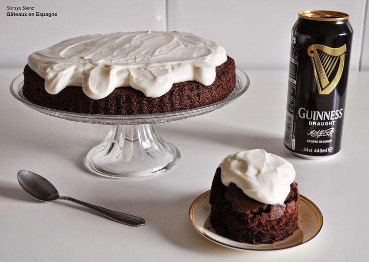 Recette de gâteau au chocolat et à la bière Guinness®