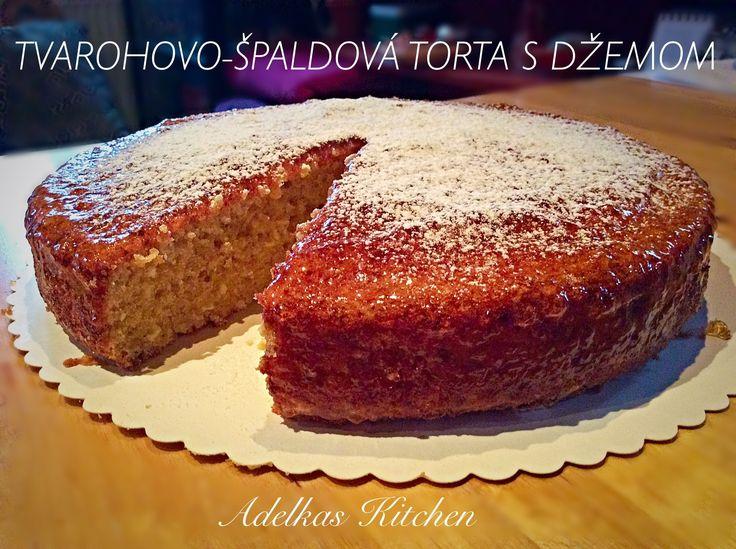 TVAROHOVO-ŠPALDOVÁ TORTA S DŽEMOM