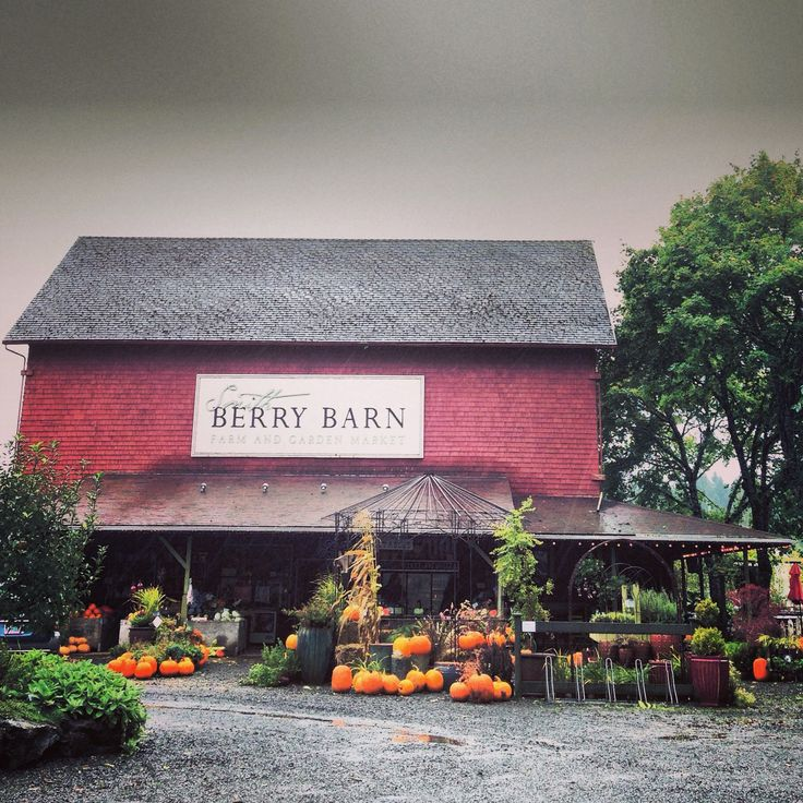 One Of Our Favorite Places In Oregon: The Smith Berry Barn