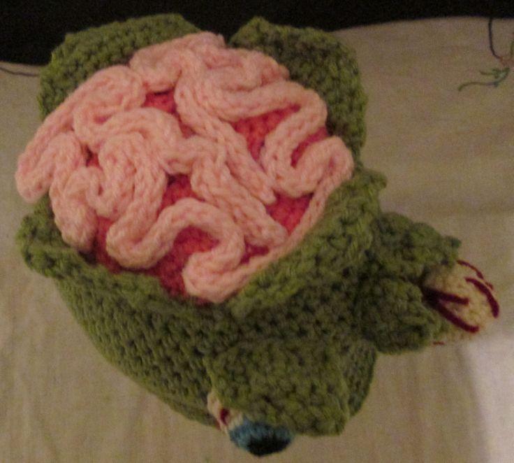 Crochet Zombie Hat Crochet Pinterest