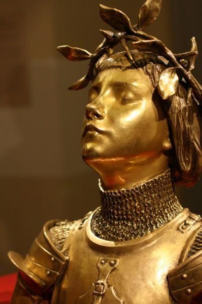 Sculpteur 1: MERCIÉ, Buste de Jeanne d'Arc – Art Institute – Chicago