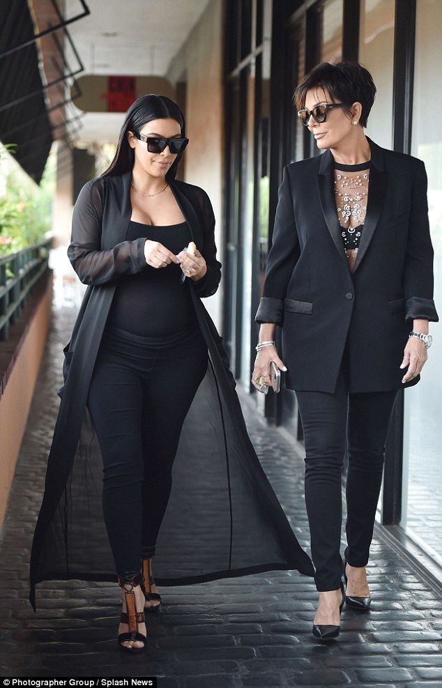 Kris Jenner gives Kim a run for her money in daring see-through top #dailymail