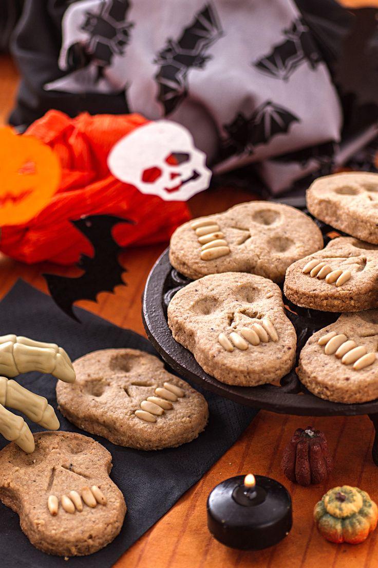Biscotti teschio Ricetta Dolcetti, Ricette, Cibo