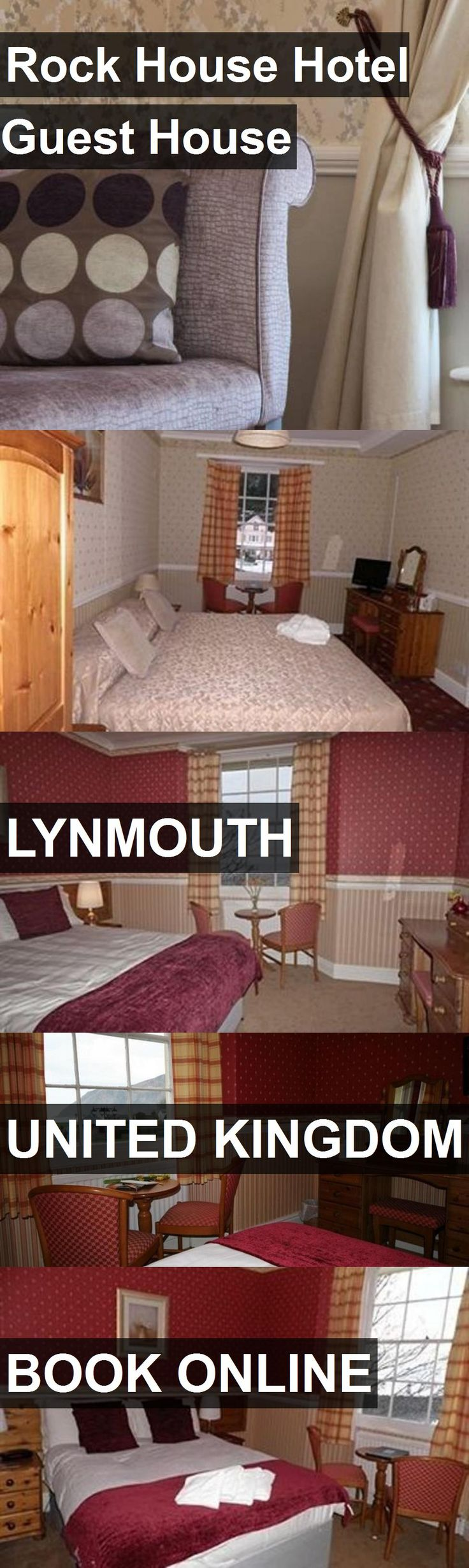 Rock House Hotel Guest House in Lynmouth, United Kingdom. For more information, photos, reviews and best prices please follow the link. #UnitedKingdom #Lynmouth #travel #vacation #hotel #guesthouse