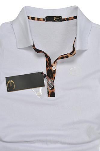 Womens Designer Clothes | JUST CAVALLI Ladies' Polo Shirt #327