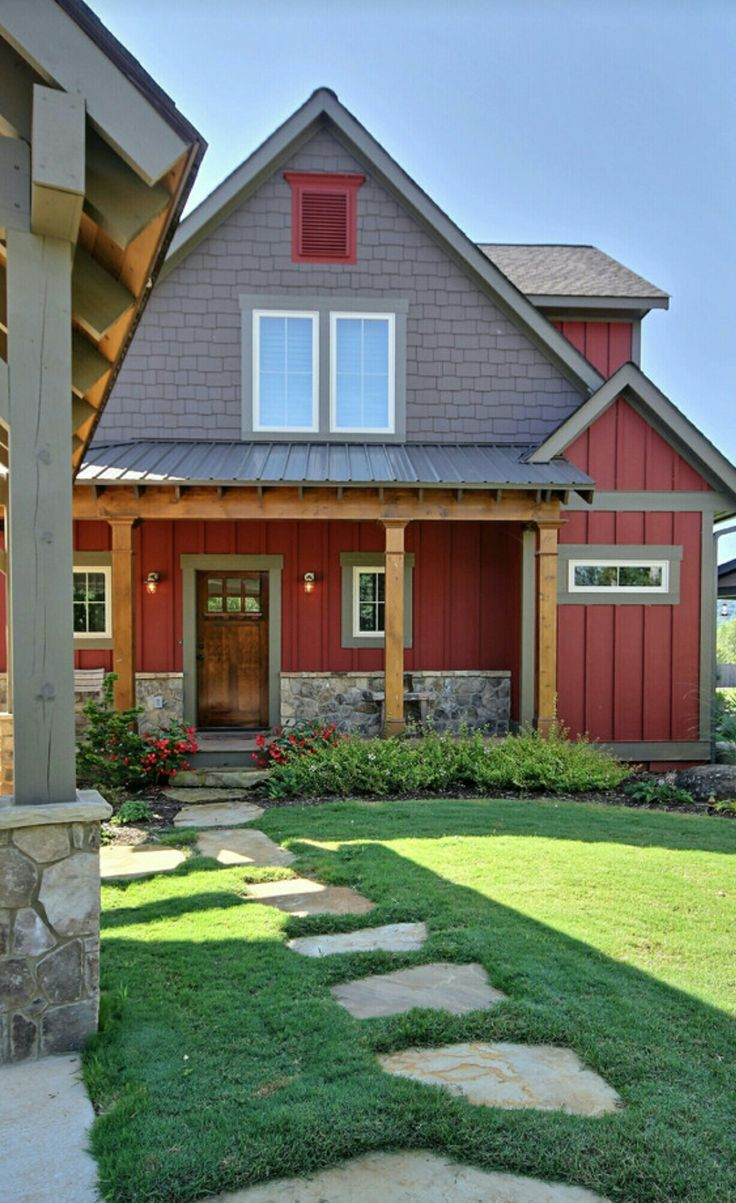 House With Black Trim 29 Best Red Houses Images On Pinterest Red Houses Exterior