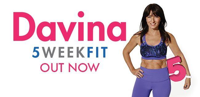 British TV personality, Davina McCall latest DVD...