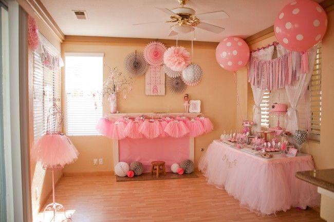 Οργανώστε ένα παραμυθένιο πάρτι γενεθλίων για τη μικρή μπαλαρίνα σας! | InfoKids