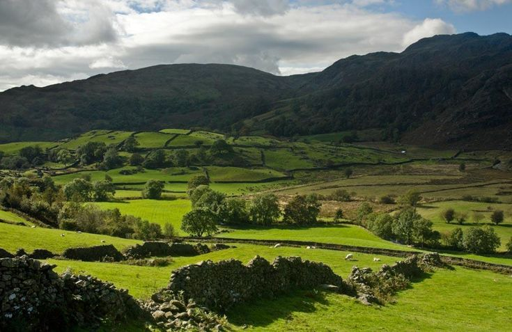 Howbarrow Organic Farm Cottage,  Lake District, Cumbria. Farming has taken place in this valley since the Doomsday Book http://www.organicholidays.com/at/3189.htm