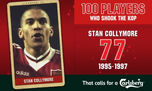 100PWSTK: 77. Stan Collymore - Liverpool FC