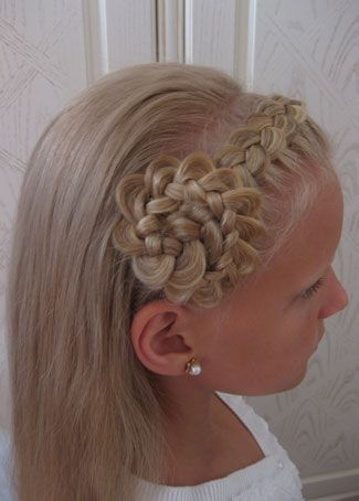 Little Girl French Braid Hairstyles French Braid American