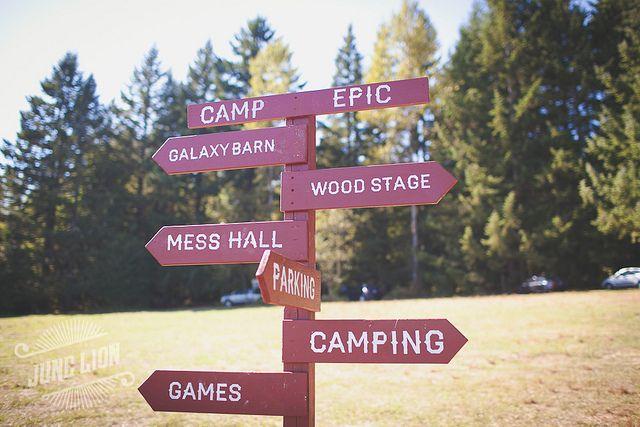 Beth + Garrett's Camp Epic Wedding by BethOlsonCreative, via Flickr