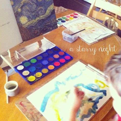 van gogh starry night - An Everyday Story