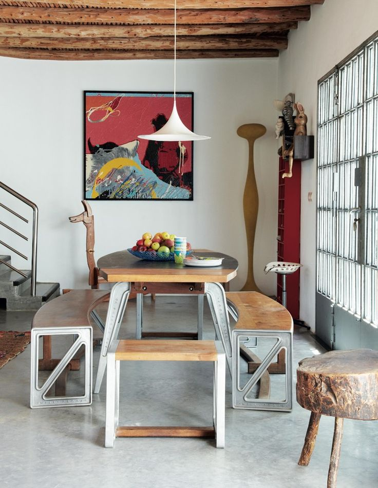 Sub-Saharan African Wall Art can really bring colour into a modern space