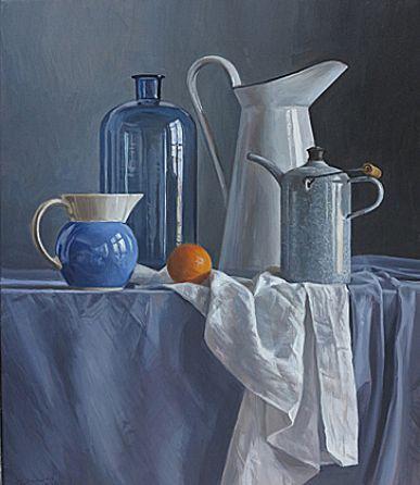 Till Warwas - Malerei - Stillleben / Vasen und Gefäße                                                                                                                                                                                 Mehr