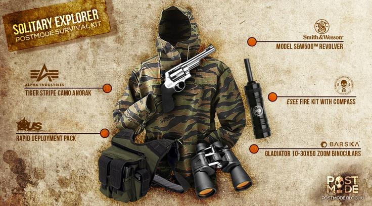 SOLITARY EXPLORER Survival Kit