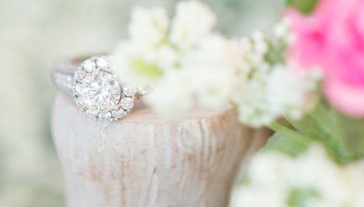 Spring, Halo, Engagement Ring, Creative, Photo