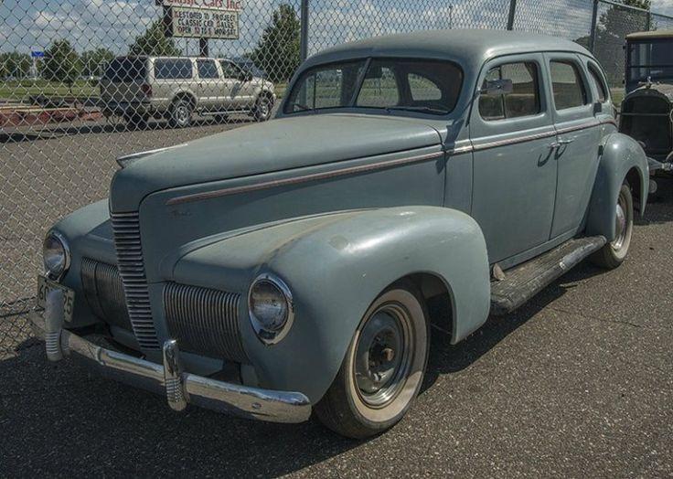 1940 nash lafayette sedan maintenance restoration of old vintage vehicles the material for new. Black Bedroom Furniture Sets. Home Design Ideas