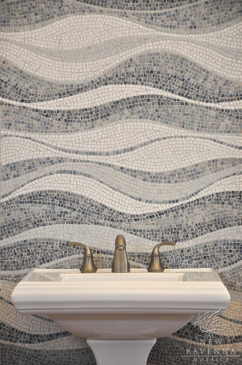8 Best Waves Images On Pinterest Mosaics Mosaic And