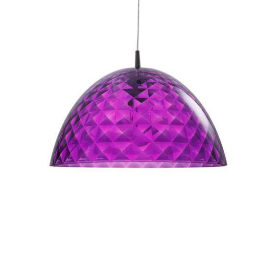 Lampa wisząca fioletowa STELLA M
