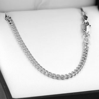 80cm Sterling Silver BCD Curb Chain Necklace - SN-BCD80