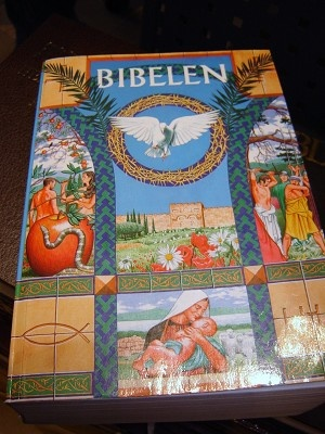 BIBELEN med informationssider om Bibelen og dens verden / Danish Bible modern translation with illustrations V060