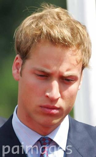 Prince William at the opening of the Princess Diana Memorial Fountain July 6, 2004