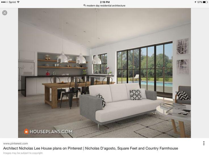 Best Architect Nicholas Lee House Plans Images On Pinterest