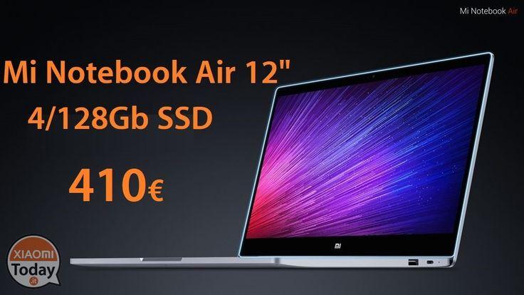 "[Codice Sconto] Xiaomi Air 12.5"" Laptop 4/128Gb SSD Gold a 410€ spedizione e dogana inclusi #Xiaomi #Air #MiAir #MiAirNotebook #Notebook #Ns1 #Offerta #Windows10 https://www.xiaomitoday.it/?p=11755"