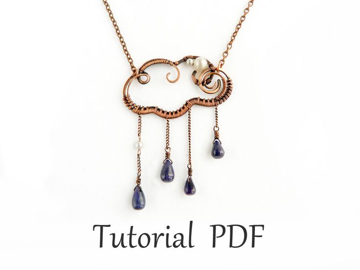 Tutorial cloud wire pendant by UrsulaOT.deviantart.com on @deviantART