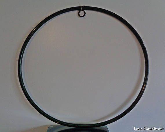 42 Black 3/4 I.D. PE Hula Hoop  Ready To Go