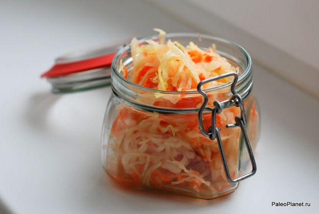 Квашеная капуста - прекрасный пробиотик!  #paleo #paleodiet #палео #палеодиета #зож #диета #капуста #пробиотик