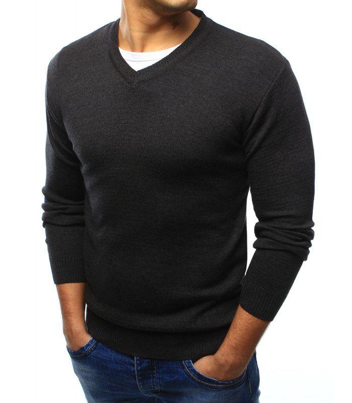 Pánsky grafitový sveter