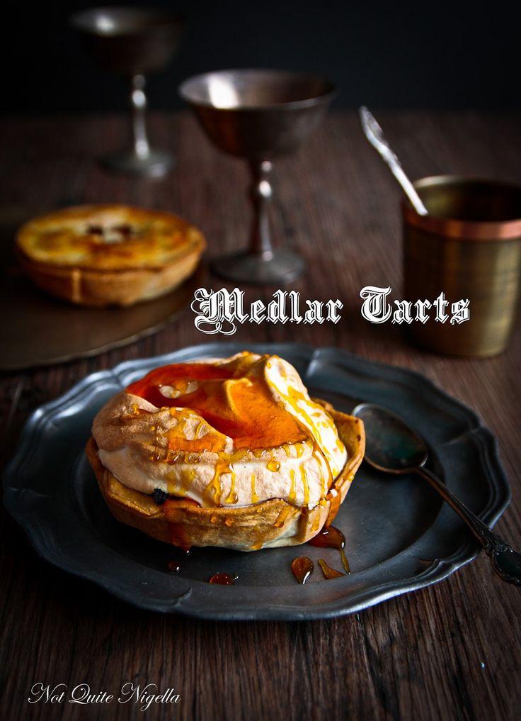 Medlar Tarts & The Mysterious Medieval Fruit!