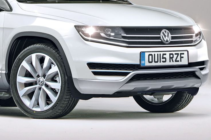 Chunky look for new VW Tiguan 2015 pictures autoexpress.co.uk