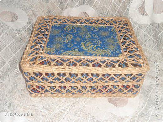Поделка изделие Плетение Воздушные корзинки Трубочки бумажные фото 1