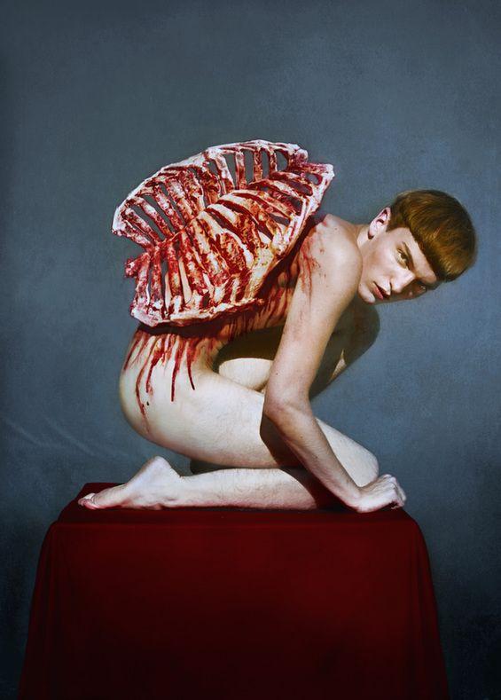 Marwane Pallas' Disturbing, Provocative Photographs Ooze Sexual Tension