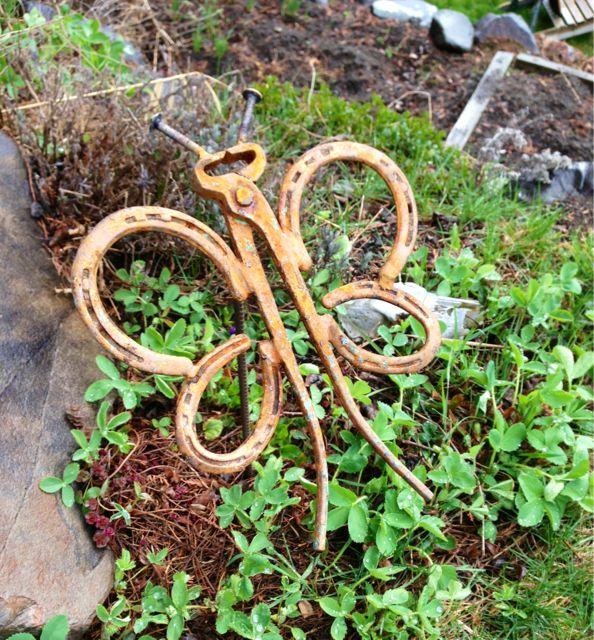 Garden Butterfly - welded yard art  Bridget Mayfield