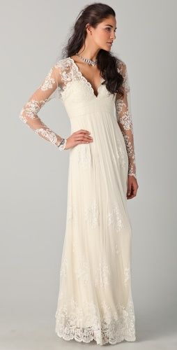 Catherine Deane Lia Lace Gown - perfect vintage bridal gown!