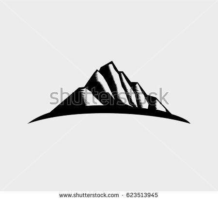 Mountain Logo, Vector illustration