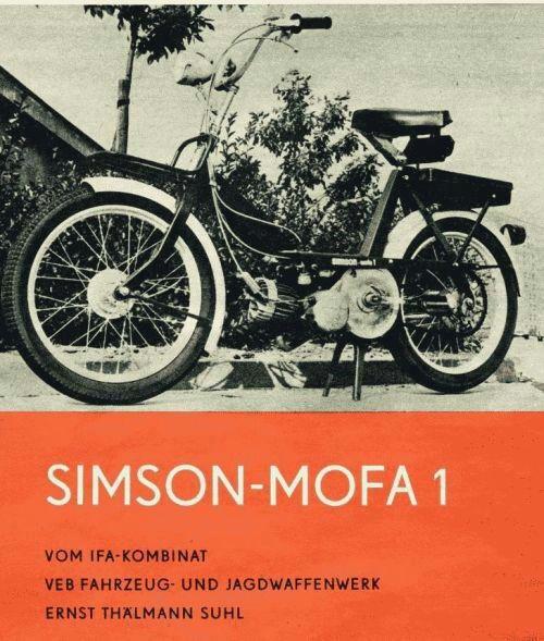 simson mofa 1 ddr fahrzeuge trabant simson mz und. Black Bedroom Furniture Sets. Home Design Ideas